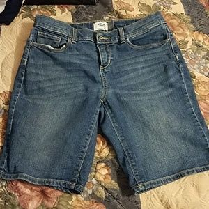 Old Navy adjustable jean shorts